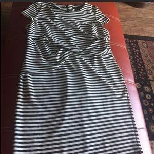 Eloquii stripe dress